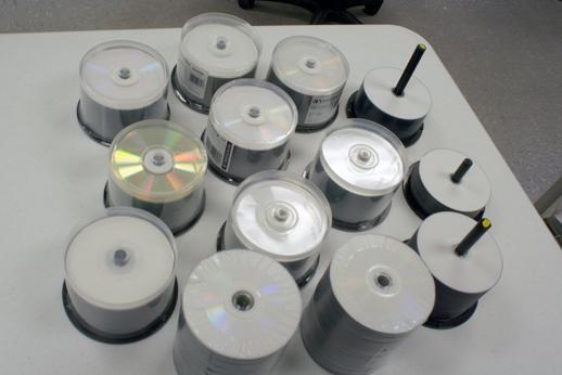 blank discs